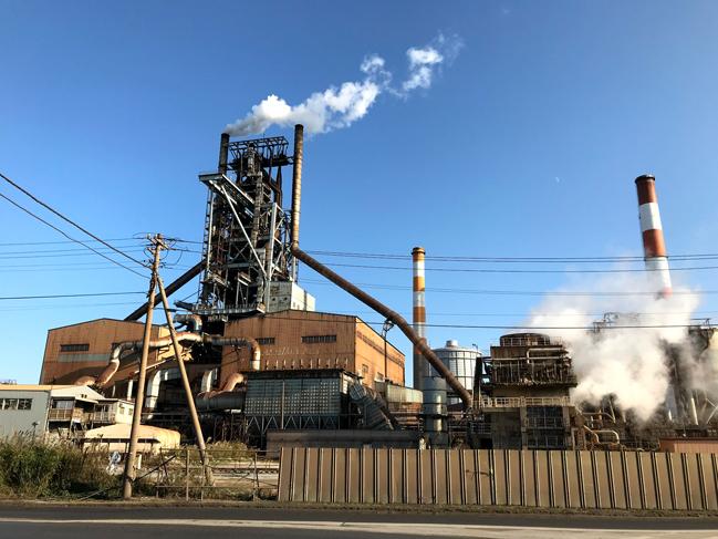 新日鐵住金鹿島製鉄所工場
